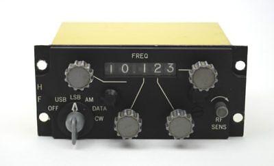RAF Aircraft Collins HF Radio Control Box Type 714E-3