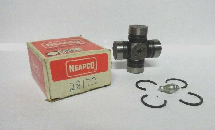 NEAPCO 1-0170 Universal Joint-Silver Fits 68-74 Dodge W100 Pickup NEW FAST FREE