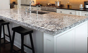 KITCHEN COUNTERTOP, WASHROOM VANITY---- Granite, Marble, Quartz