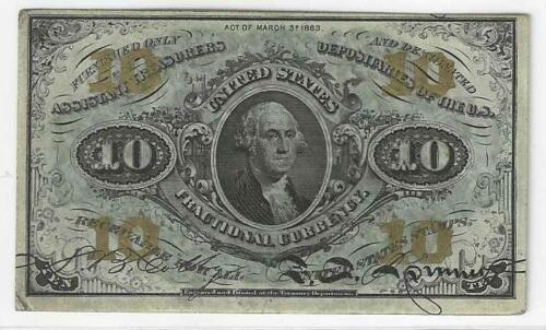 Third Issue 10c  George Washington...... Crisp About Uncirculated