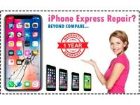 Apple iPhone Screen Repairs Express iPhone 7, 6, 6s, 5, 5s, 4s, 10 X, 8, Plus + Quick iFIX Service