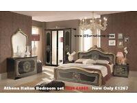 Italian Bedroom Furnitures, Italian Furniture set, Italian Furniture