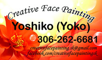 Creative Face Painting - Any Events or Parties Big & Small