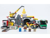 LEGO CITY 4204 THE MINE WITH ALL PIECES AND INSTRUCTIONS