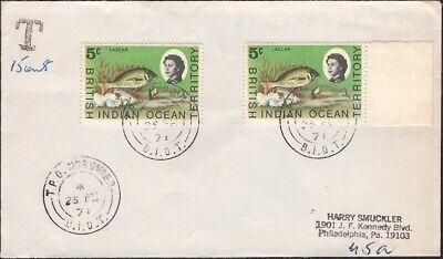 B.I.OT.1971. Due Cover Diego Garcia -  T.P.O. Nordvaer, 16 (2)