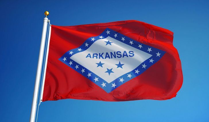 ARKANSAS STATE FLAG new superior quality 2x3ft size fade res