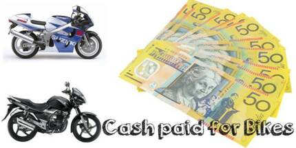 CASH PAID FOR MOTORBIKES, (All makes and models) Broadbeach Waters Gold Coast City Preview