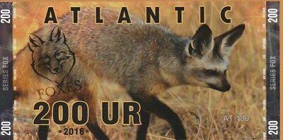 Bank Atlantic 200 Ur Bateared Wolf
