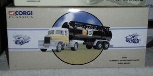 Corgi Diecast Model Trucks Crorgi Classics: Scammell Highwayman Tanker: Shell/BP