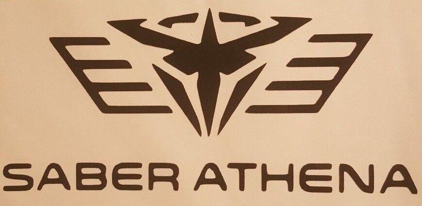 Pacific Rim Saber Athena Logo vinyl sticker decal choose col