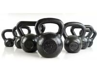 **NEW 6kg Cast Iron Kettlebell Home Fitness HIIT Strength Crossfit