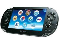PS Vita games wanted.