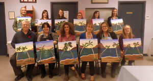 Wine and Painting Fun Parties! St. John's Newfoundland image 7