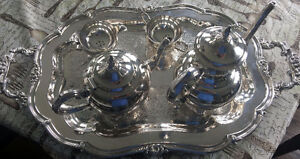 FS: Silver Plated Tea Set by Wm. A. Rogers