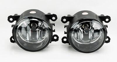 Jaguar S X Type XK Replacement Clear Fog Lights Pair RH LH Right Left