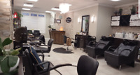 Chair rental in Downtown Burlington Salon
