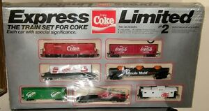 Vintage COCA COLA Express Limited #2 HO Train Set Unopened