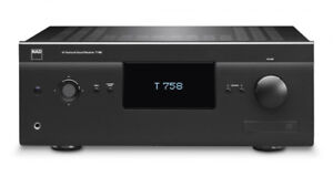 NAD T758 V3 receiver with DOLBY Atmos DIRAC Room Eq processing