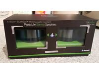 Twin Bluetooth speakers-brand new