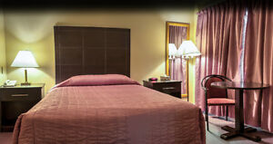 SPECIAL Weekly/Daily Motel Room Rates For Contractors/Workers