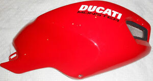 Ducati Monster 696 796 1100 R Tank Cover plastic fairing body ev