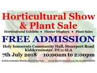 KHS Summer Horticultural Show & Plant Sale - 7th July 2018 - FREE ENTRANCE