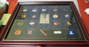 1997 NHL STANLEY CUP CHAMPIONS FRAMED PIN COLLECTION! LEAFS.... Peterborough Peterborough Area image 10