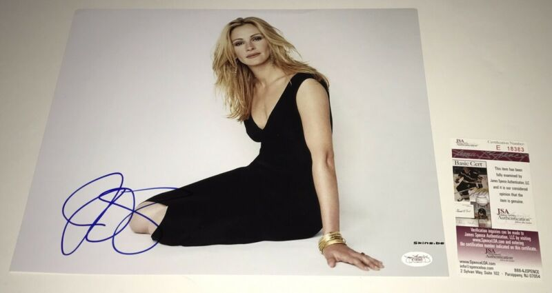 JULIA ROBERTS Signed 11x14 PRETTY WOMAN Sexy Photo IN PERSON Autograph JSA COA