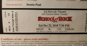 School of Rock The Musical - Toronto, Dec 22 2018