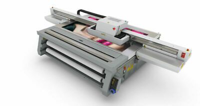 New Oce Arizona Flatbed Printer Az2280xtwrmo Sn 5302318