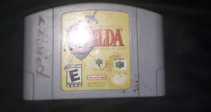 Zelda ocarina of time, for sale or trade.