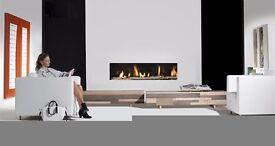 Frameless Balanced Flue Gas Fire (Brand New Incl Warranty)