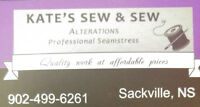 Seamstress for Alterations