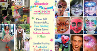 Face Painting & Balloons, for Birthday Parties or March BREAK!