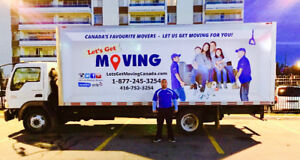 ⭐️LET'S GET MOVING⭐️- MISSISSAUGA AFFORDABLE MOVING COMPANY⭐️