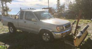 1999 Nissan Frontier 5-speed with Plow