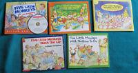 Five Little MOnkeys book set