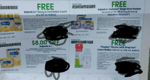 Enfamil A+ coupons $54 value