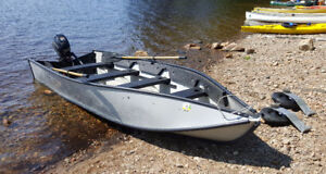 14 ft. Porta-Bote with Tohatsu 6HP 4-stroke outboard