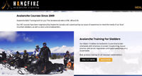 Avalanche Courses -  Sled AST 1 Class - Alberta