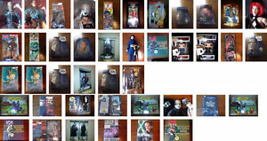 Collectible action figures 12 inch original boxes huge selection