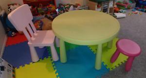Idea kids table