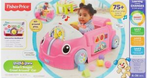 Fisher-Price Laugh & Learn Smart Stages Crawl Around Car bnib