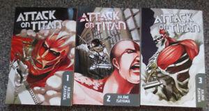 ATTACK ON TITAN Vol. 1-3