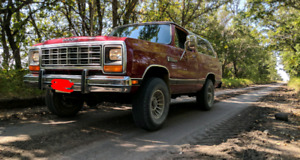 OBO *SAFETIED* 1984 Dodge RamCharger Royal SE