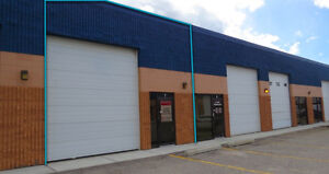 FOR SUBLEASE: Small1,767SF Drive-Thru Warehouse Bay in Foothills