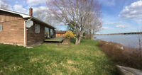 3 Bedroom Waterfront Cottage for Rent in Cocagne, NB