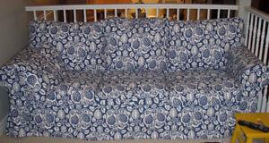 Ikea EKTORP sofa with 2 sets of covers