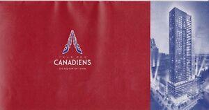 Tour des Canadiens Condo à Vendre - 34e étage