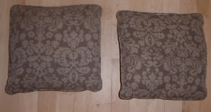 Pair of patio cushions